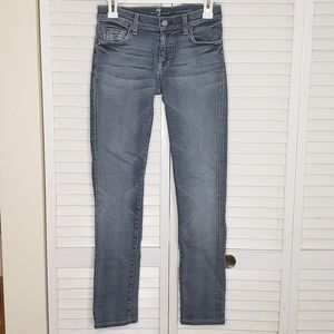 7 For All Mankind Roxanne Slim Skinny Jeans NWOT